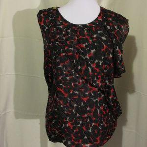 Silk Michael Kors Shirt Size 12